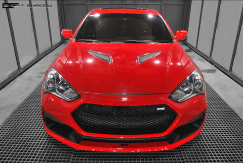 M&S BK Genesis Coupe Ghost Shadow Front Bumper 13-15