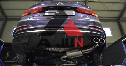 A.JUN AD Elantra Sport Cat Back Exhaust 16 + SHIPPED