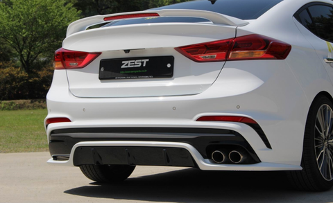 ZEST AD Elantra Sports Rear Diffuser 16 + SHIPPED