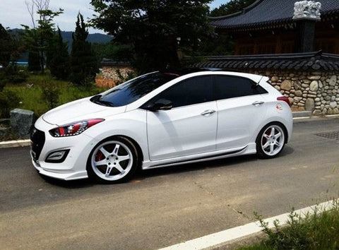ZEST Elantra GT Side Skirts 12+ SHIPPED