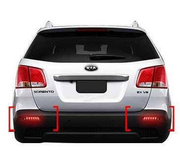 Saewon XM Sorento 2 Way LED Rear Reflector 11-15 SHIPPED