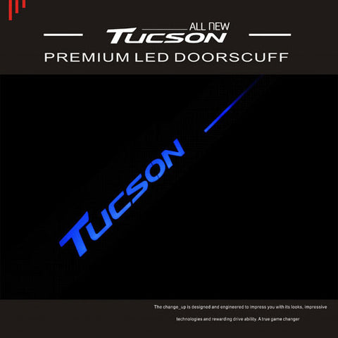ChangeUp TL Tucson LED Door Scuff Plate 15 + SHIPPED