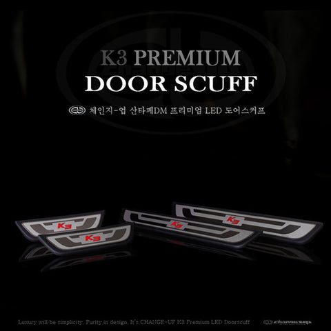 ChangeUp Forte Sedan Door Scuff Plate 14 + SHIPPED