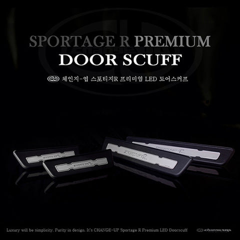 ChangeUp SL Sportage Door Scuff Plate 10-15 SHIPPED