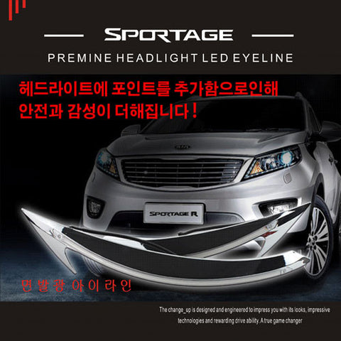 ChangeUp SL Sportage Bolt On LED Eyeline 10-15 SHIPPED