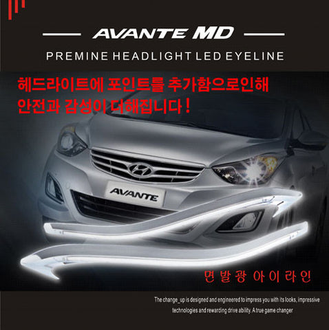 ChangeUp MD Elantra Bolt On LED Eyeline 11-15 SHIPPED