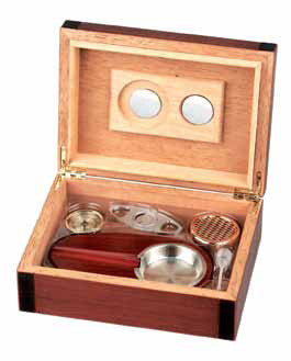 Freeline Cherry 25er Humidor Set