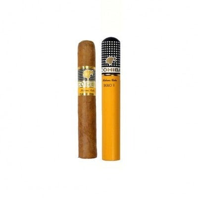 Foto_Cohiba Siglo 1_single cigar with Alu Tubo