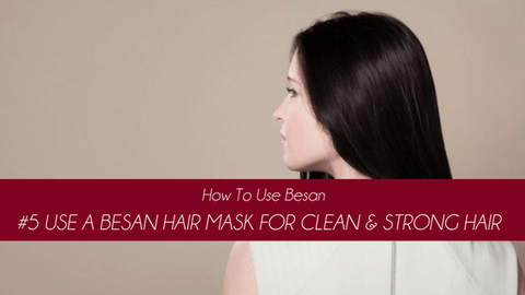 how to use besan