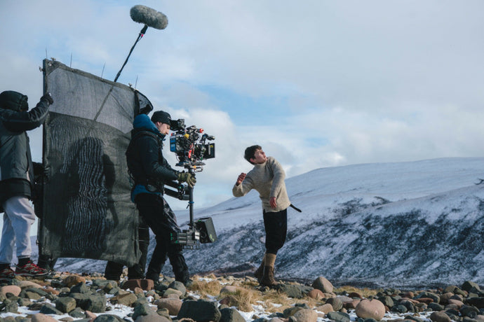 Shackleton On Set (In The Fall)