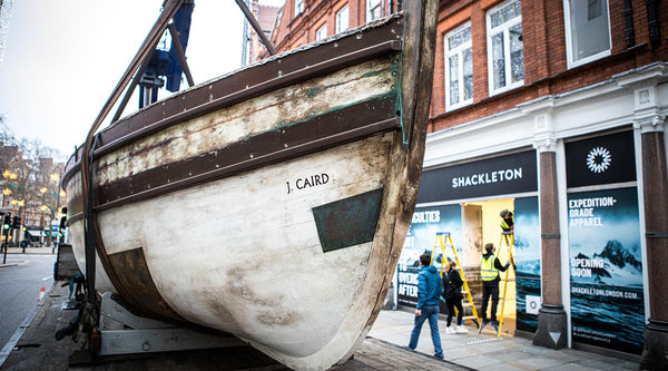 The Caird arrives at our new London store