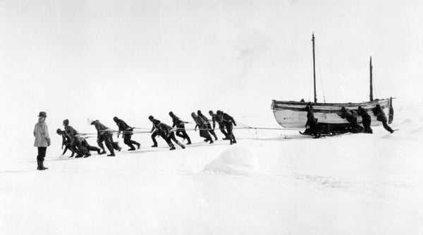 Who financed Shackleton's expeditions?