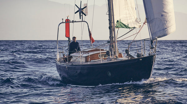 Solo sailing with James Aiken