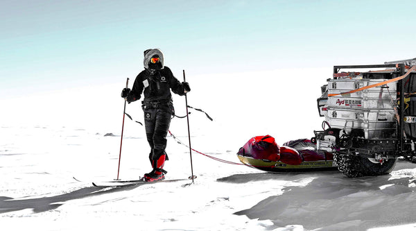Scott Sears MBE breaks South Pole record