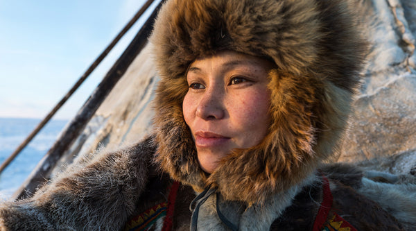 Women living on the edge of earth