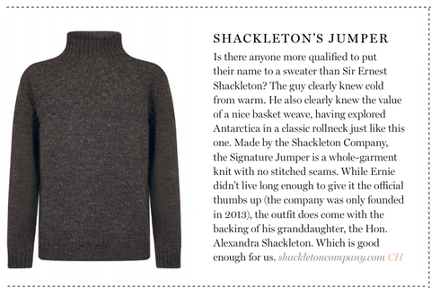 Smith Stuff Article on Signature Sweater