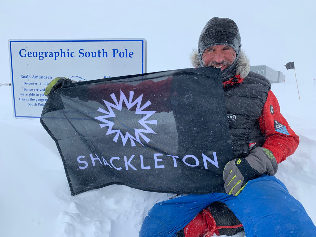 Lou Rudd At South Pole