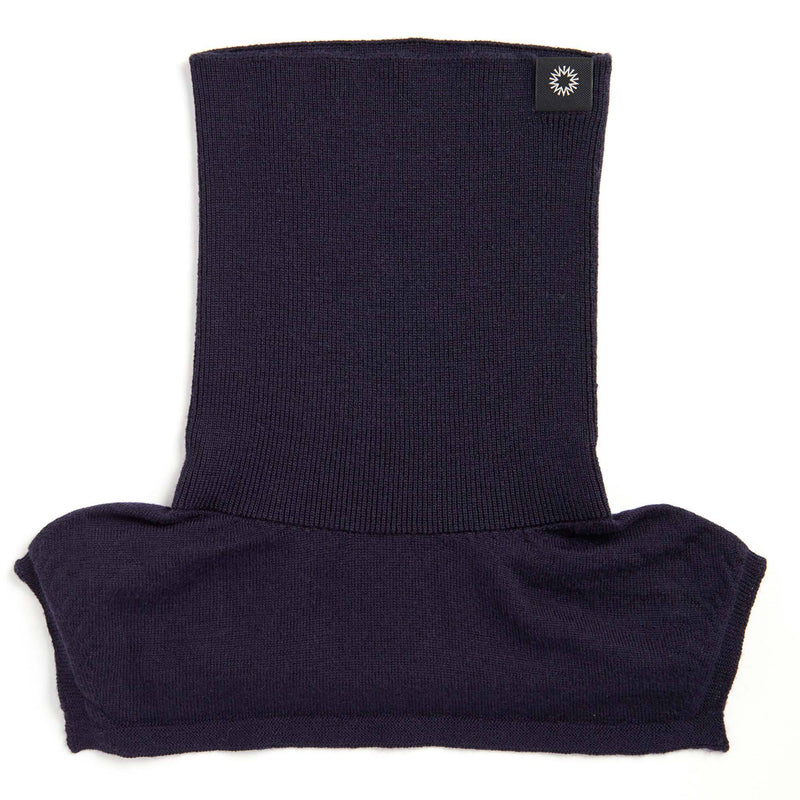 Merino Neck Warmer | Navy Blue