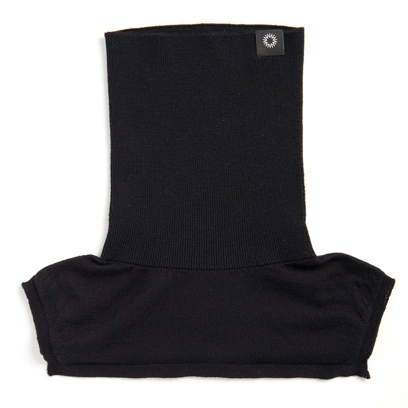 Merino Neck Warmer | Black