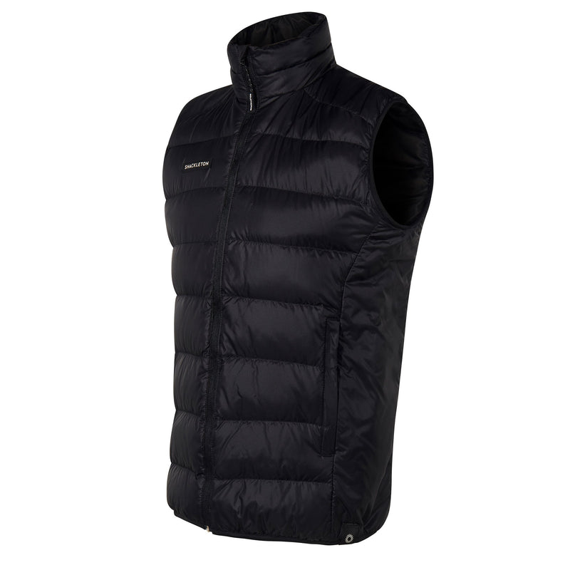 Fortuna Down Vest Gilet | Black