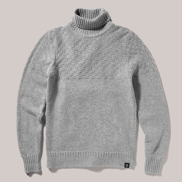Hero Lambswool Sweater | Light Grey