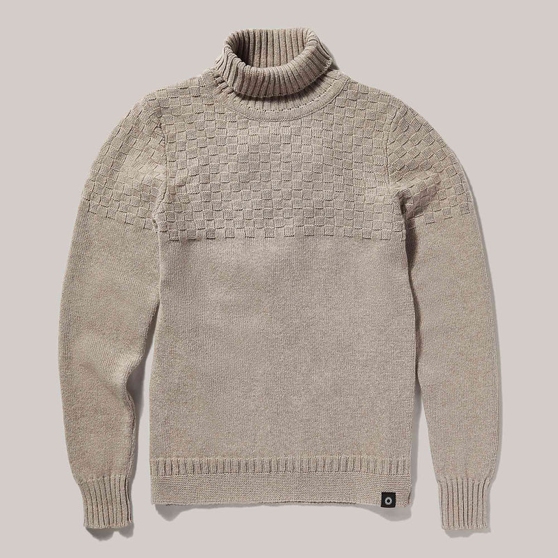 Hero Lambswool Sweater | Oatmeal