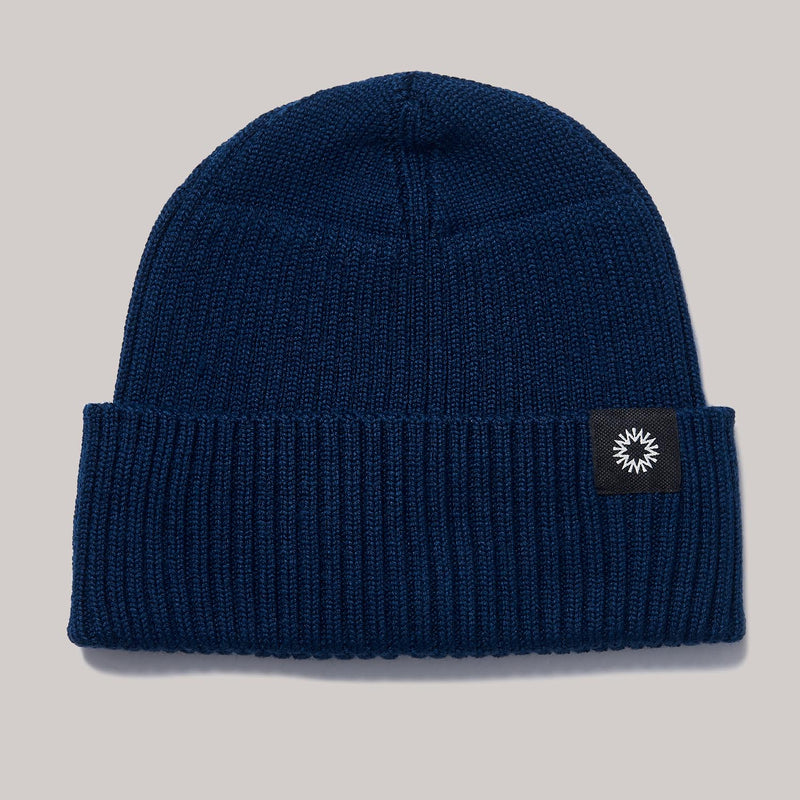 Merino Watch Cap | navy blue
