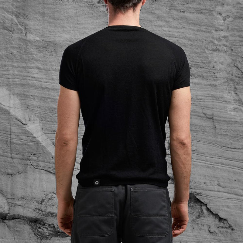 Shackleton Koster Merino Wool T-Shirt | Black