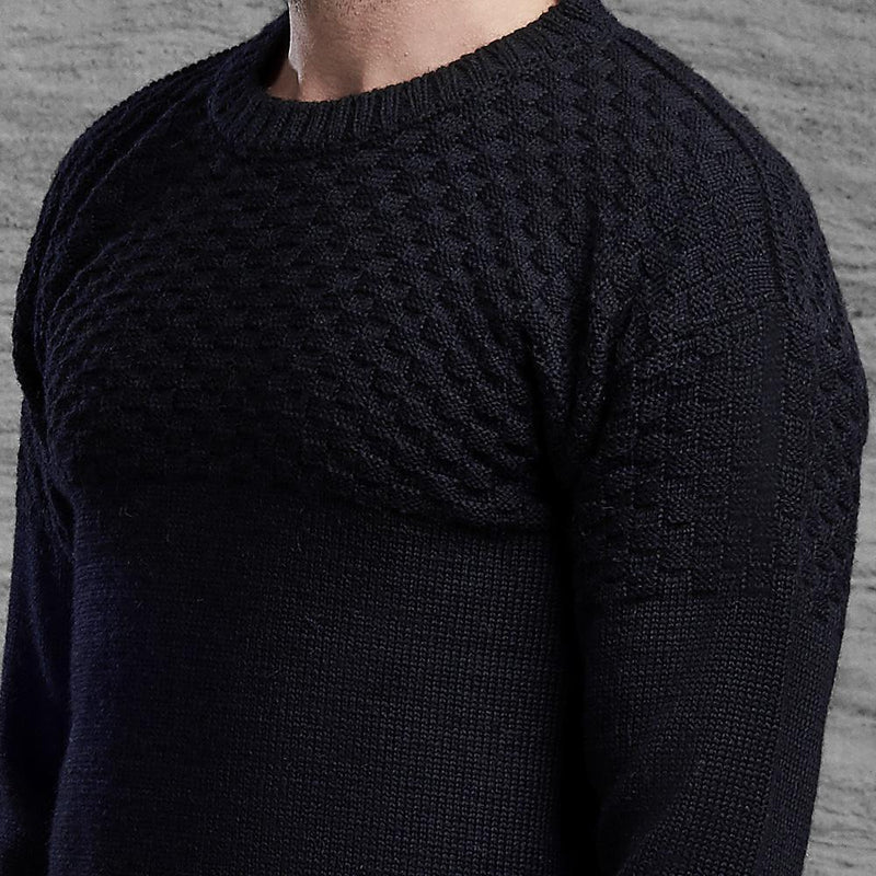 Shackleton Ernest Lambswool Sweater | Navy