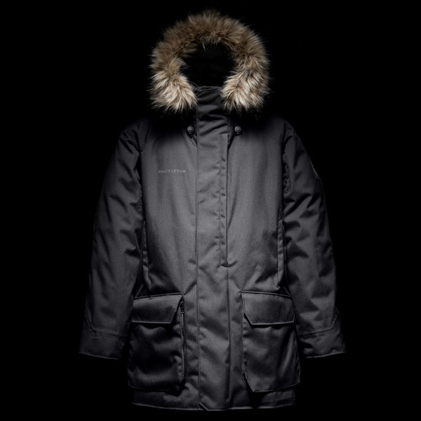 Frank Hurley Photographer's Down Waterproof Jacket | Black