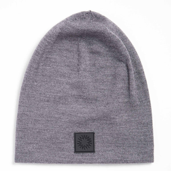 high top beanie | light grey