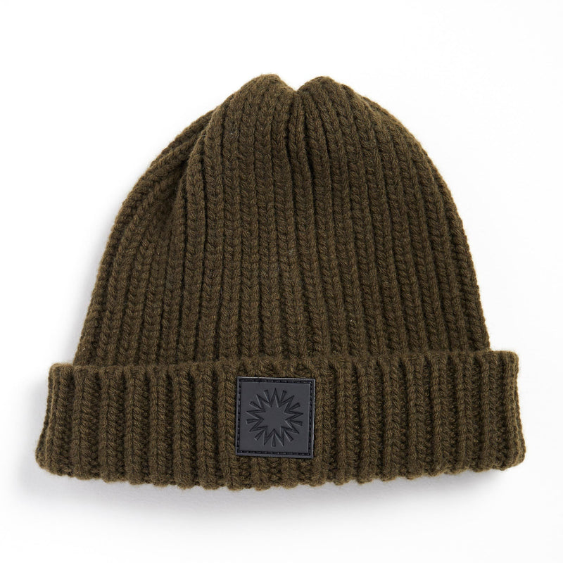 Fishermans Beanie | Olive Green