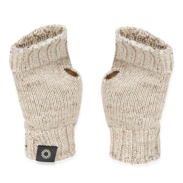 Shackleton Wrist Warmer Wool Fingerless Gloves | Skiddaw