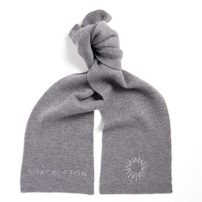 Merino Scarf | Light Grey
