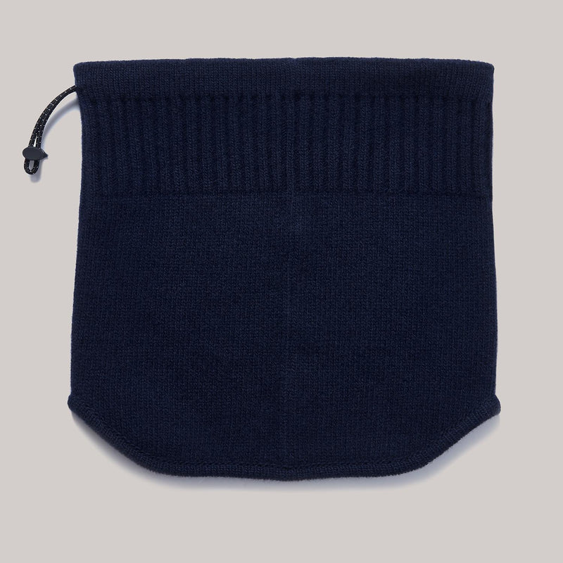Cashmere Neck Warmer | navy blue