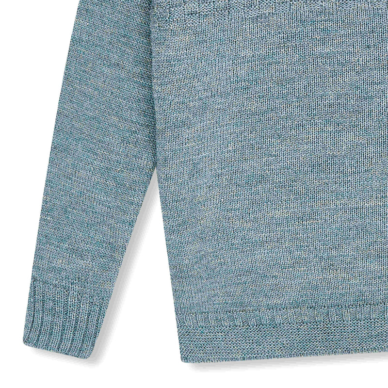 Shackleton Ernest Lambswool Sweater | Light Blue