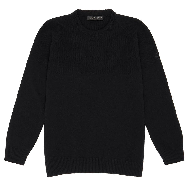 Dulwich Lambswool Sweater | Black