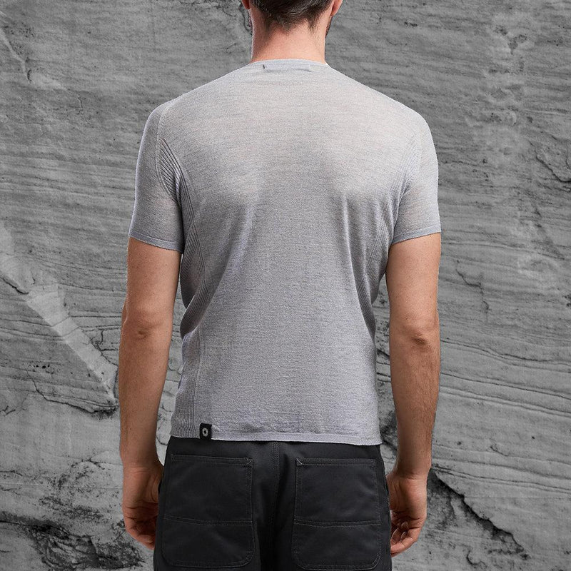 Shackleton Koster Merino Wool T-Shirt | Steel