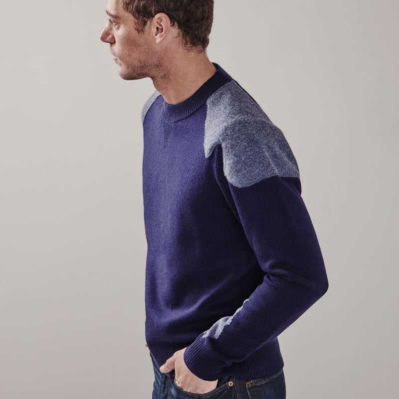 Stirling Sweater | navy blue