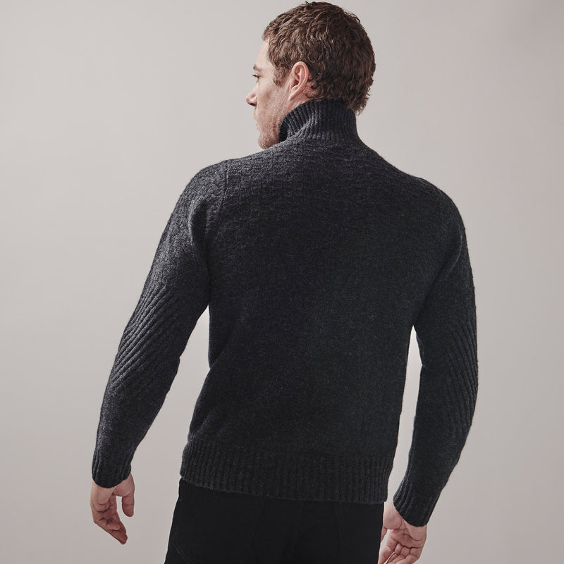 Worsley Sweater | charcoal