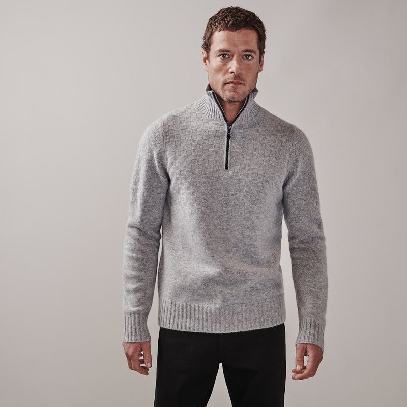 Worsley Sweater | silver