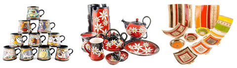 Handmade Ceramics From Tivelasi Pottery