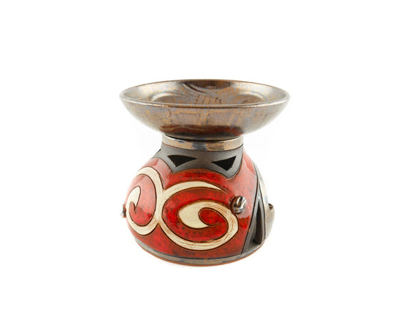 Ceramic Essential Oil Burner - Orient - Handmade Ceramics and pottery | Teapots, Coffee and Tea Mugs, Vases, Bowls, Plates, Ashtrays | Handmade stoneware - 3