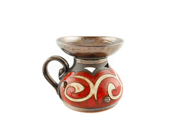 Ceramic Essential Oil Burner - Orient - Handmade Ceramics and pottery | Teapots, Coffee and Tea Mugs, Vases, Bowls, Plates, Ashtrays | Handmade stoneware - 5