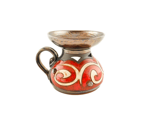 Ceramic Essential Oil Burner - Orient - Handmade Ceramics and pottery | Teapots, Coffee and Tea Mugs, Vases, Bowls, Plates, Ashtrays | Handmade stoneware - 1