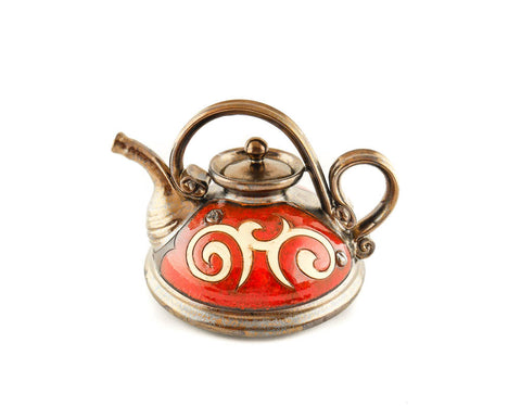 Handmade Ceramic Teapot 23oz Classic Orient - Handmade Ceramics and pottery | Teapots, Coffee and Tea Mugs, Vases, Bowls, Plates, Ashtrays | Handmade stoneware - 1