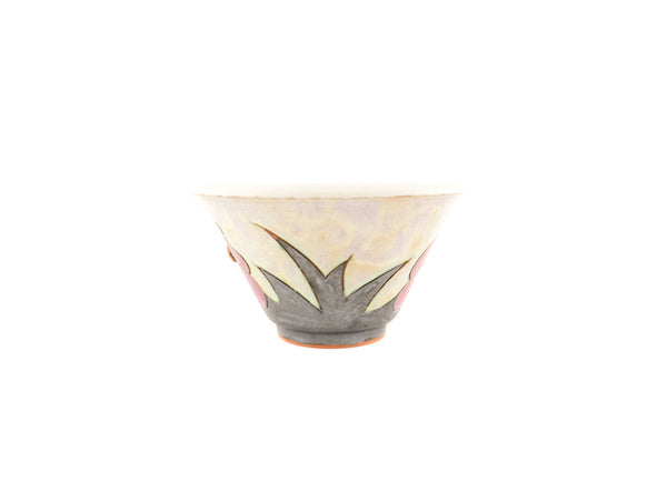 Handmade Ceramic Soup Cup 16oz Flower - Handmade Ceramics and pottery | Teapots, Coffee and Tea Mugs, Vases, Bowls, Plates, Ashtrays | Handmade stoneware - 5