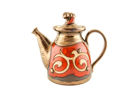 Handmade Wheel Thrown Pottery Teapot 34oz - Handmade Ceramics and pottery | Teapots, Coffee and Tea Mugs, Vases, Bowls, Plates, Ashtrays | Handmade stoneware - 1