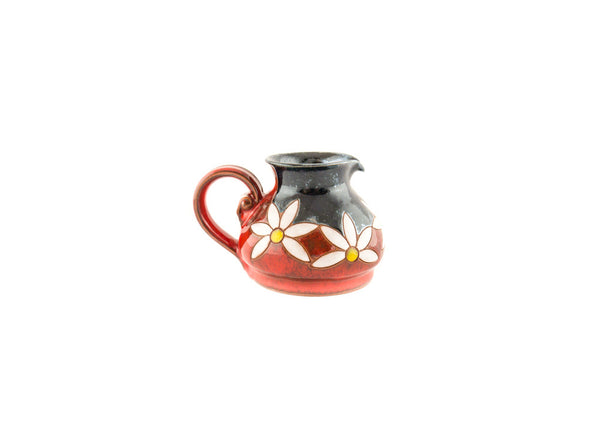 Pottery Creamer 8.5oz Daisy - Handmade Ceramics and pottery | Teapots, Coffee and Tea Mugs, Vases, Bowls, Plates, Ashtrays | Handmade stoneware - 4