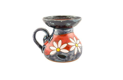 Ceramic Oil Burner from Tivelasi Pottery